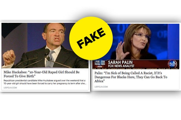 The Price hoax follows other USPoln hoaxes that rely on shocking, made-up quotes from politicians. Here are two other recent examples of fake stories from the site: