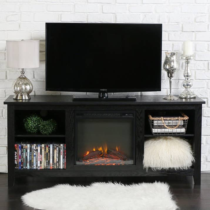 4 A Tv Stand Destined To Bring Netflix S Award Winning Series Fireplace For Your Home To Fruition