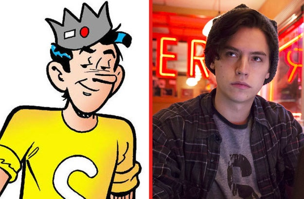 And last but not least, Cole Sprouse as Jughead before