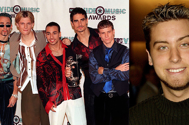 This Video Of The Backstreet Boys Serenading Lance Bass Will Tear Up Your Heart