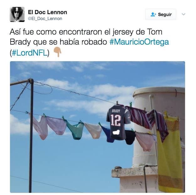 Encontraron el jersey de Tom Brady en México y el Internet tiene ...
