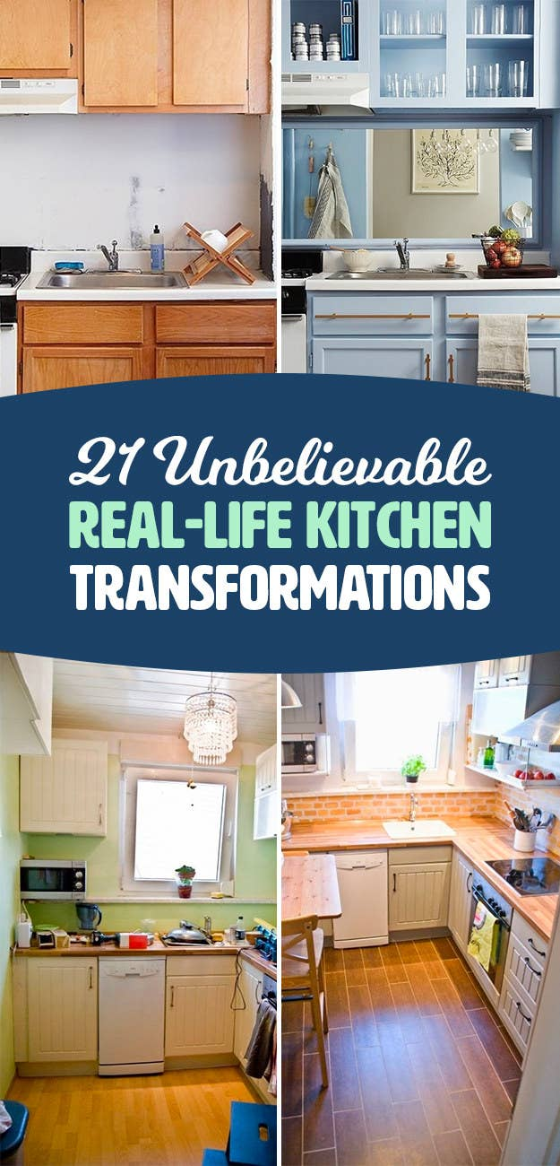 19 Kitchen Makeover Before-And-Afters That Made Me Say \