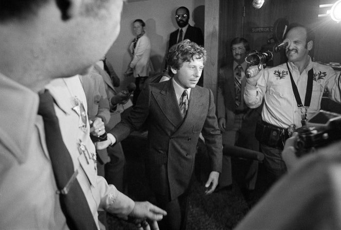 Roman Polanski is shown leaving court in Santa Monica, Calif., after being ordered to undergo a 90-day diagnostic study at a state prison.