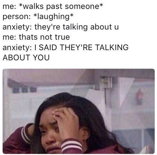 Image result for anxiety memes""