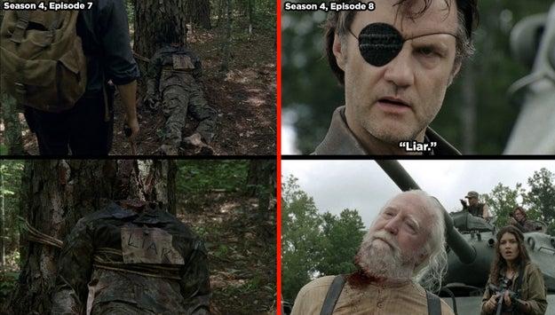 """Detalles que seguro nunca notaste en """"The Walking Dead"""""""