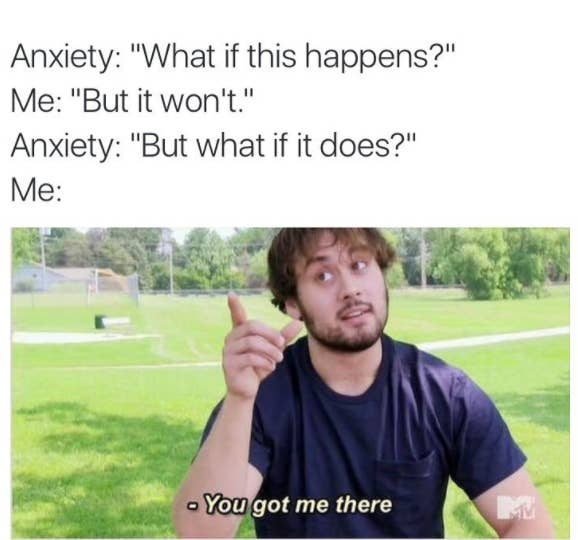 "55 Memes About Anxiety That Will Make You Say ""Me"""