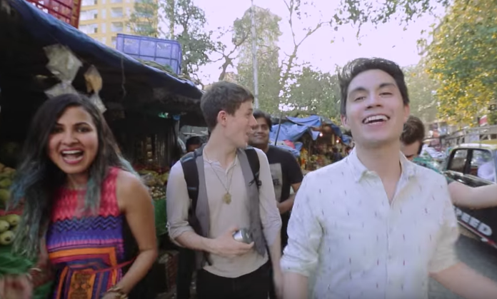 YouTube heavyweights Sam Tsui and Kurt Schneider collabed with Shankar Tucker and Vidya Vox to create this super fun mashup of Michael Jackson's 'Don't Stop' and Bollywood classic 'Chaiyya Chaiyya'