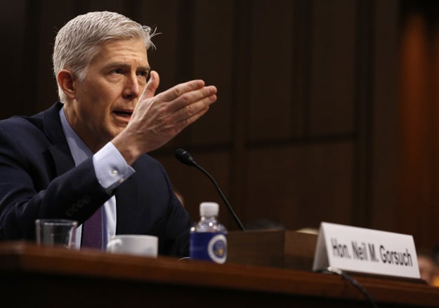 "Trump's Supreme Court Nominee Says He Would Have ""No Difficulty"" Ruling Against The President"
