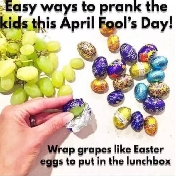 50 Awesome April Fools Day Pranks Your Kids Will Totally Fall For