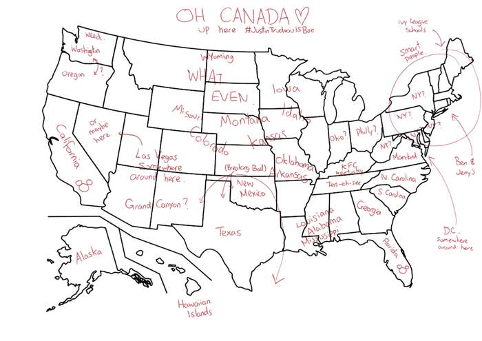 Map Of America And Japan.We Had Our Colleagues In Japan Label Maps Of America And The Results