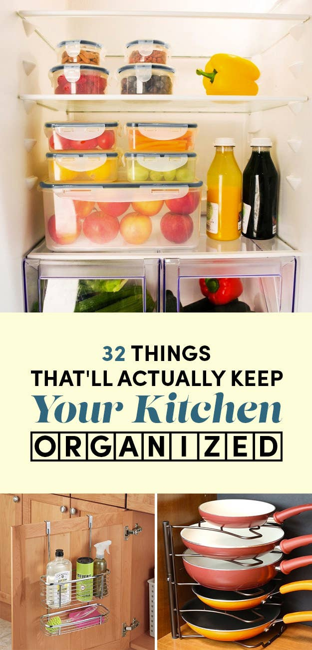 Space in the kitchen by adding shelves and glass canisters with seals - We Hope You Love The Products We Recommend Just So You Know Buzzfeed May