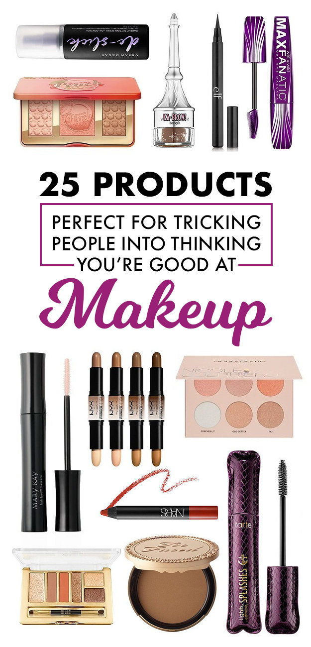 25 Heaven-Sent Products For People Who Suck At Makeup