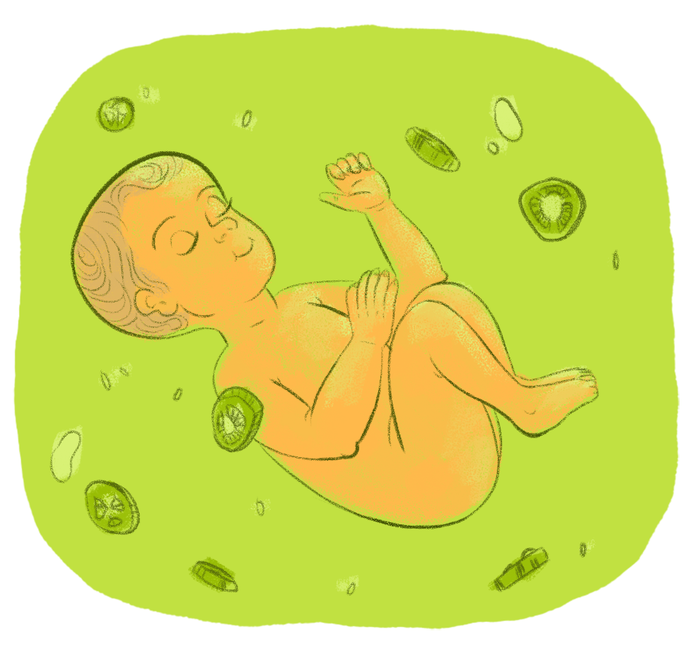 Latina fetuses marinate in jalapeño juice inside their mother's womb. Nine months later, they come out kicking, screaming, and asking the nurse to turn on their favorite novela.