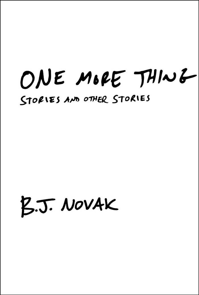 What to expect: B.J. Novak's writing is pure brilliance and this series of short stories is fun and insightful. Each story is like a quick amusement park ride that you could've happily stayed on for longer. Don't be surprised when you feel the urge to hop right back on and reread this book shortly after finishing it.