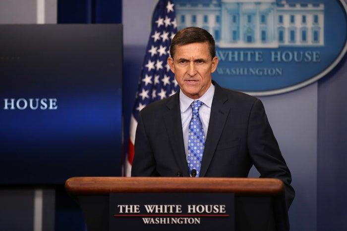 Former National Security Adviser Mike Flynn.