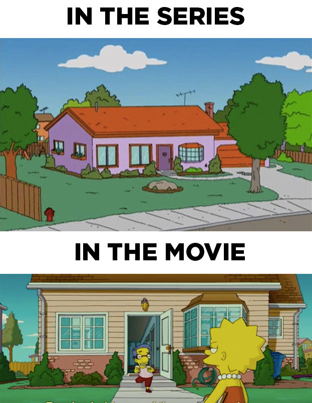 17 awesome pieces of trivia about quotthe simpsons moviequot