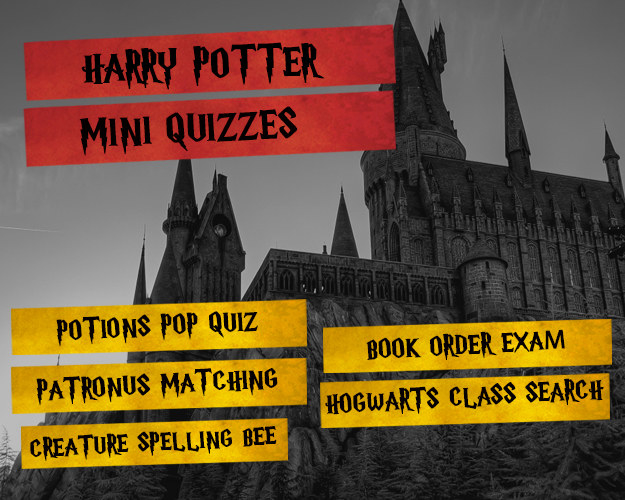 Harry Potter Book Quizzes : Can you complete this harry potter activity book