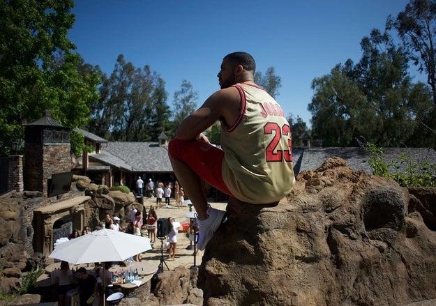 Summer 2012: Drake bought a mansion in Calabasas.