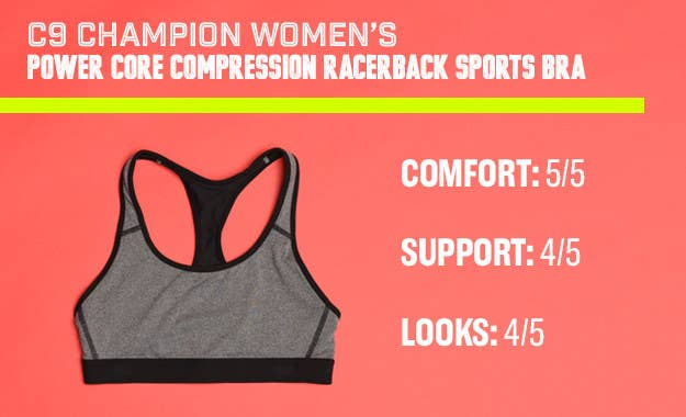 a9aef1fab97 Then I tried the C9 Champion Women s Power Core Compression Racerback Sports  Bra that I got from Target ( 6+).