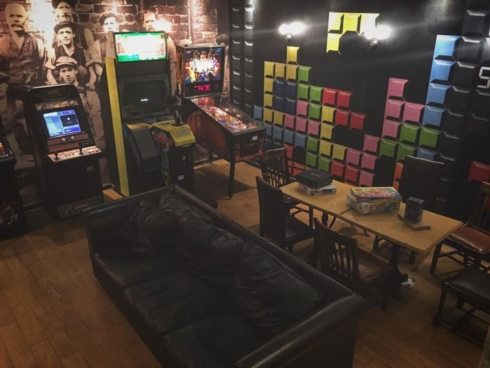 This Leith pub is literally wallpapered with game references, and their back room is a mini-arcade stocked with plenty of board games. Don't try their shot roulette wheel on an empty stomach – their vodka tabasco mixer will give you the fear.