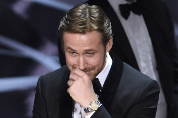 Ryan Gosling Finally Explained Why He Couldn't Stop Laughing During The Disastrous Oscars Mix-Up