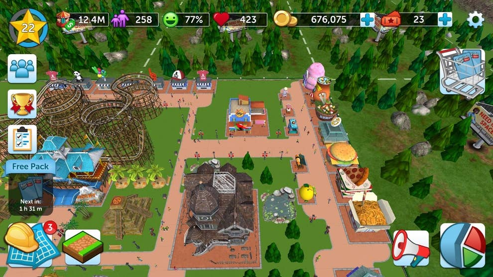 19 Things To Do If You Want To Be An Expert At RollerCoaster Tycoon