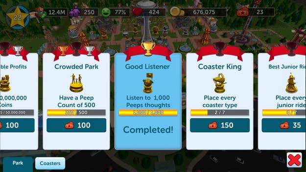 6 Tips To Be An Expert At RollerCoaster Tycoon Touch 1