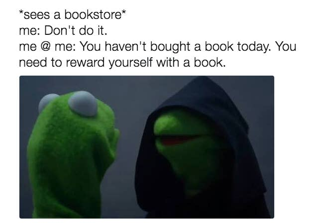 Image result for love bookstores meme
