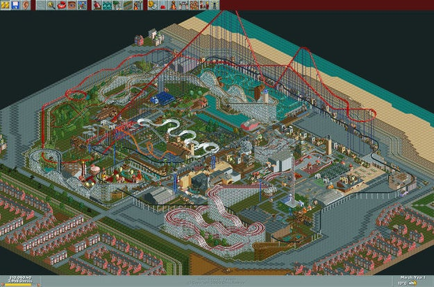 Remember Rollercoaster Tycoon, the amazing, fun, time-suck computer game from the early '00s?! Well guess what! It's back, in a FREE touch version for iOS and Android.