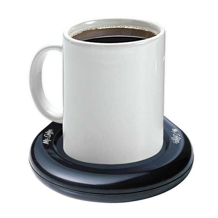 """""""A mug warmer because I drink my coffee so slow, and reheating it in the microwave makes it taste so bad. This has been a must have for almost two decades."""" —cr1stalfairieGet it on Amazon for $9.99."""
