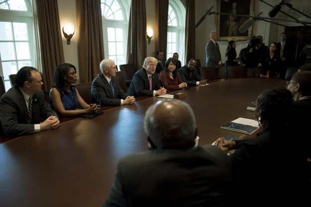 Progressive Group Criticizes Black Lawmakers For Meeting With Trump