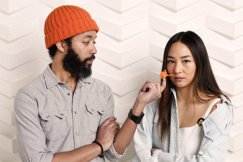 Fits and Starts stars Wyatt Cenac and Greta Lee