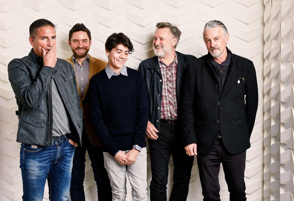 The Ballad of Lefty Brown stars Jim Caviezel, Diego Josef, Bill Pullman, and Tommy Flanagan with director Jared Moshé