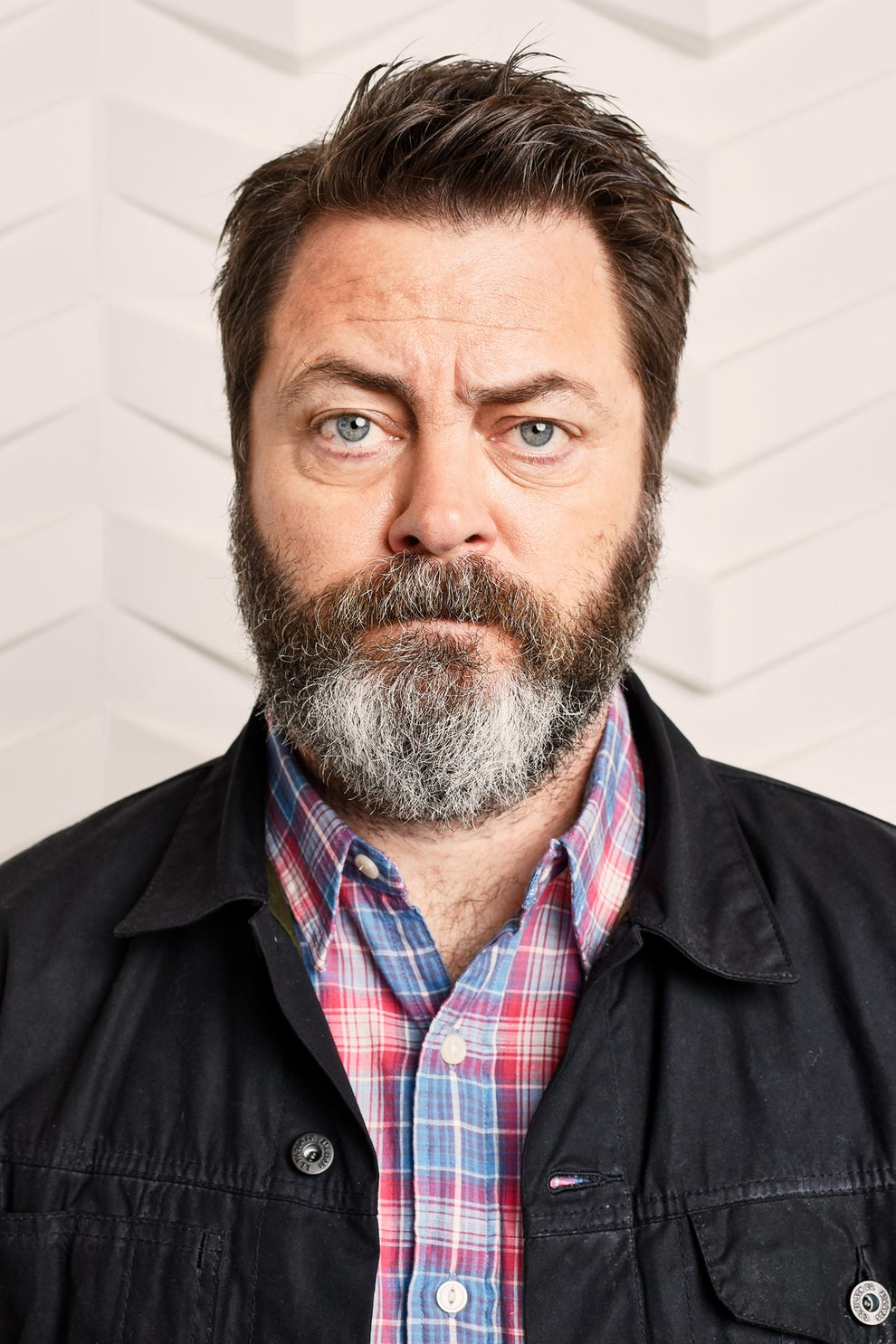 Infinity Baby and The Hero star Nick Offerman