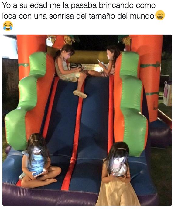 La infancia 2.0.