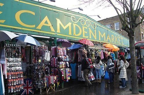 Camden Market - London, England