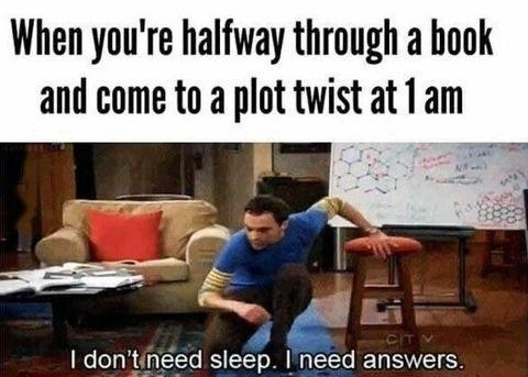 sub buzz 27356 1490368104 1?downsize=715 *&output format=auto&output quality=auto 50 hilarious memes you'll relate to if you love books