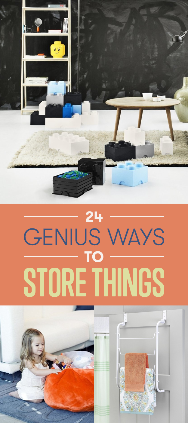 How to store things 1