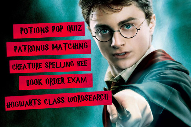Can You Complete This Harry Potter Activity Book?