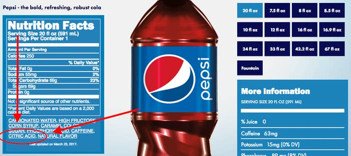 This Ingredient Is The Only Difference Between Pepsi And Coke