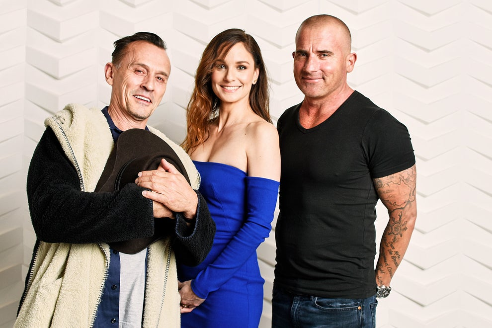 Prison Break stars Robert Knepper, Sarah Wayne Callies, and Dominic Purcell
