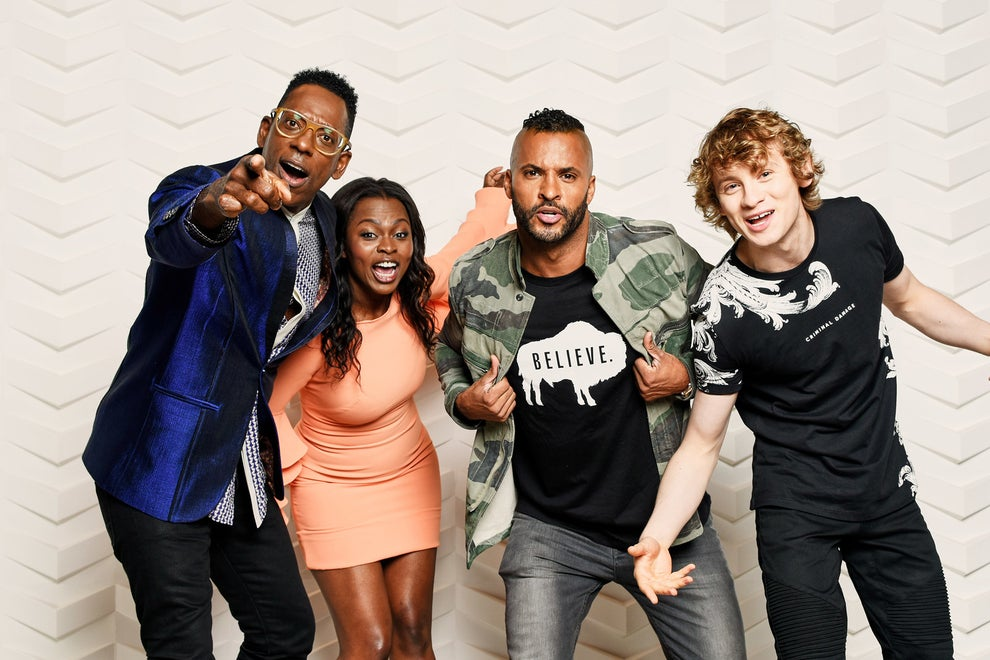 American Gods stars Orlando Jones, Yetide Badaki, Ricky Whittle, and Bruce Langley