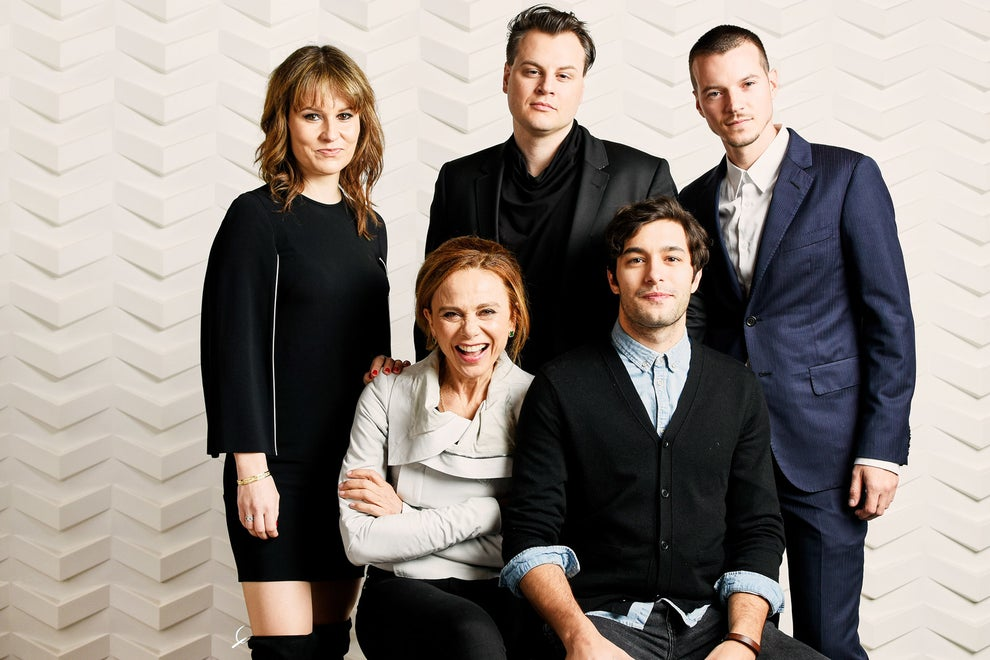 A Critically Endangered Species co-directors Zachary Cotler and Magdalena Zyzak with stars Nathan Keyes, Lena Olin, and Alexander Koch