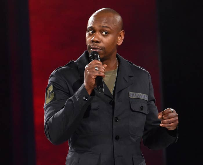 Dave Chappelle performs to a sold-out crowd at the Hollywood Palladium on March 25, 2016, in Los Angeles.
