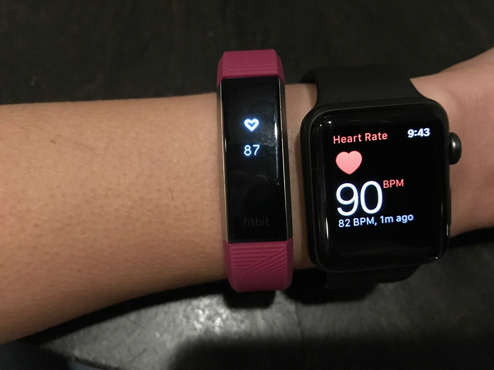 We tried the fitbit alta hr an ultra thin heart rate tracker heart rate tracking share on facebook share nvjuhfo Images