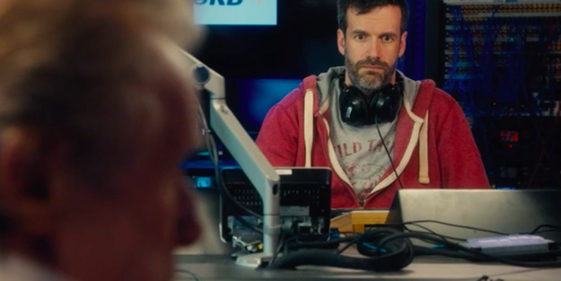 He breaks the news to Mikey (Marcus Brigstocke) that Joe died from a heart attack.