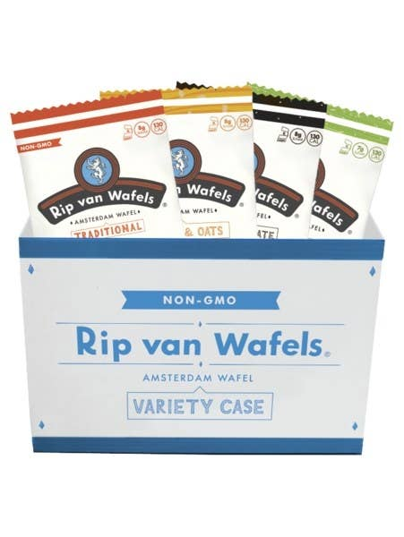 Enjoy tasty and healthy stroopwafel from Rip Van Wafels, which are made using real, natural ingredients. These mouthwatering wafels, which come in four flavors like honey & oats and coconut, are made from clean, simple, high quality ingredients and are low in sugar. The wafels are perfect snack to enjoy, either in the morning as a breakfast, after a workout, or as a fun addition to any meal.
