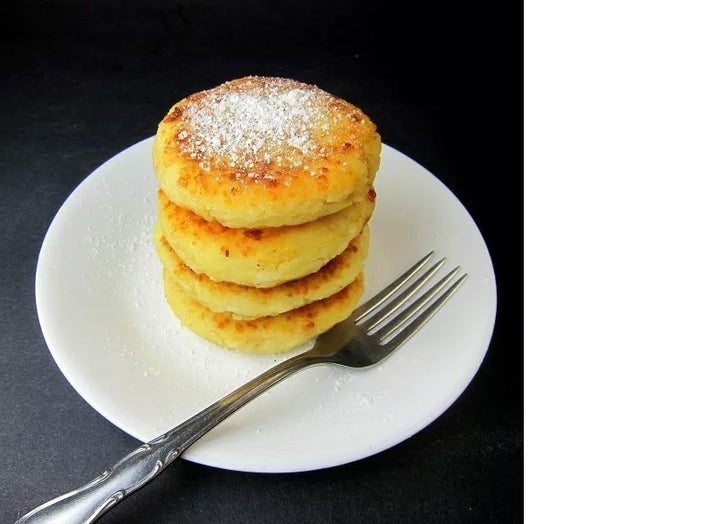 Cheesy Ukrainian Pancakes in 25 minutes cause cheese just makes everything better: Recipe Here
