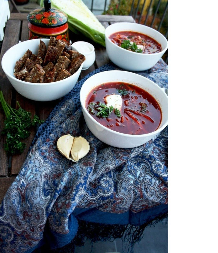 Wholesome and delicious old skool Borscht in 30 minutes: Recipe Here