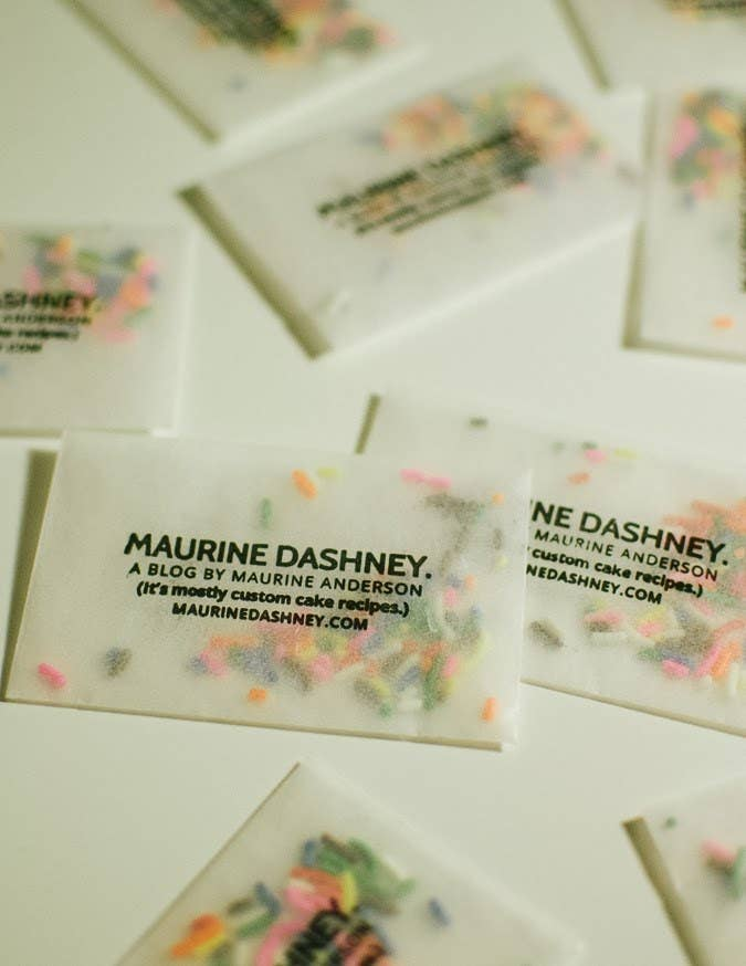 25 genius business cards this sprinkle filled business card reheart Gallery